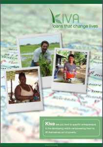 Download the Brochure About Kiva