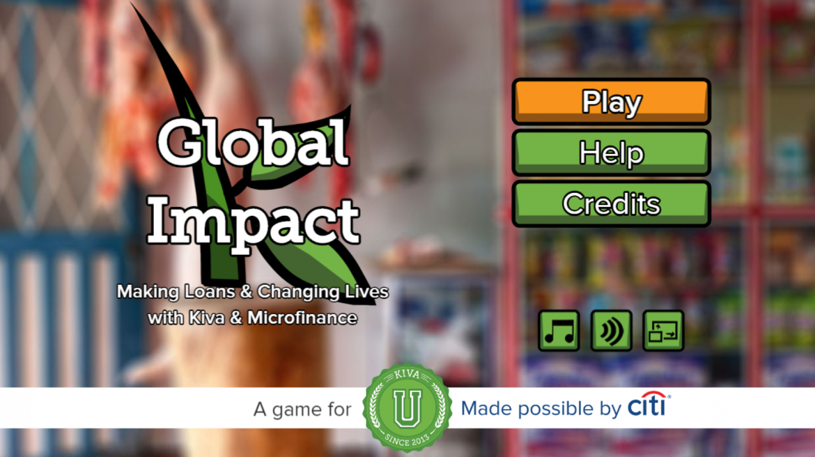 KivaU Global Impact Game by Citii