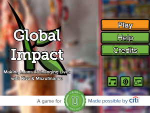 Play the Global Impact Video Game by KivaU Sponsored by Citi
