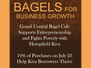 Grand Central Bagel Cafe Supports Entrepreneurship While Fighting Poverty