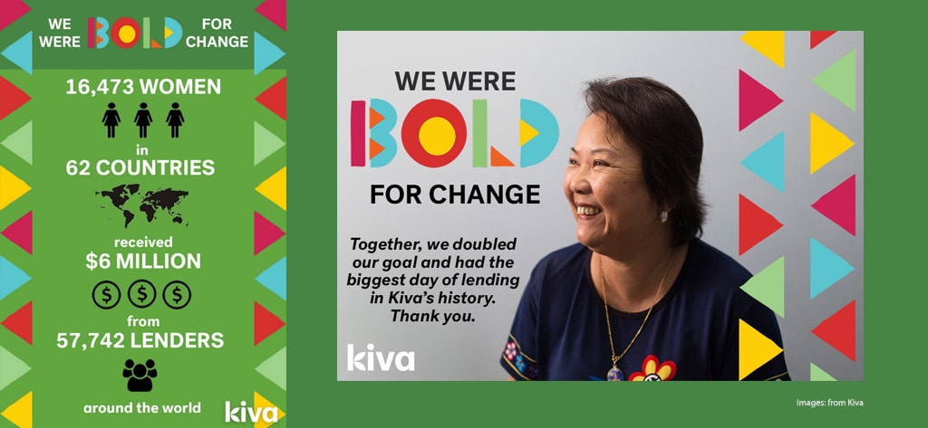 International WOmen's Day - Be Bold for Change